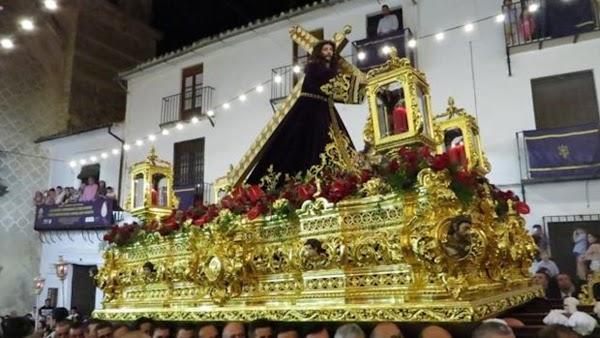 El Nazareno de Priego de Córdoba ante una magna con «unas estampas irrepetibles»