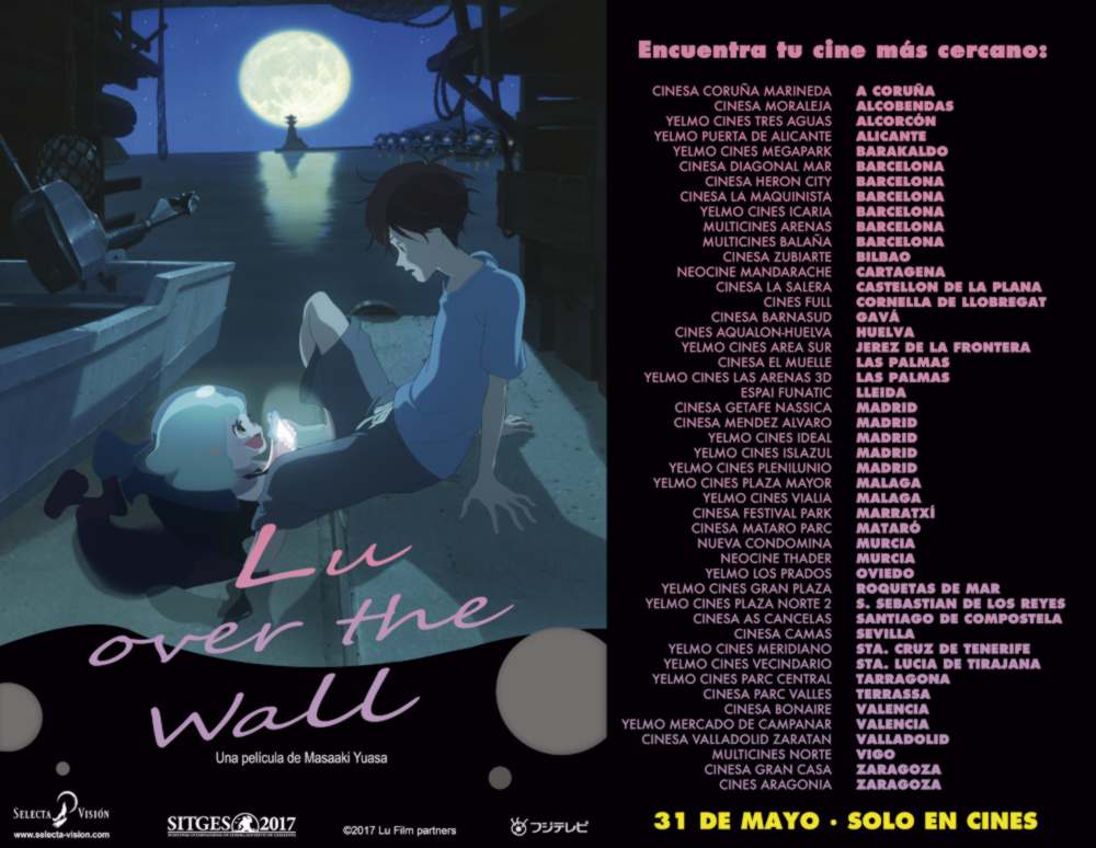 Lu Over The Wall - Selecta Visión - cines