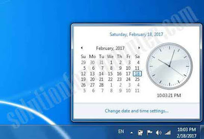 check date and time in computer