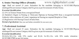 Senior Nursing Officer Jobs- Level 6 Pay