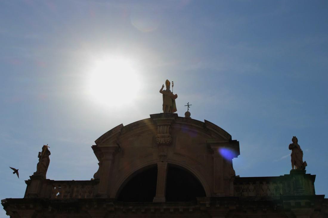 Dubrovnik, Kroatia, Dubrovnikin vanha kaupunki, syysloma, Rouva Sana