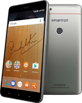 Smartron srt.phone | 4GB RAM + 32GB/64GB ROM | 13MP Rear and 5MP Front Camera