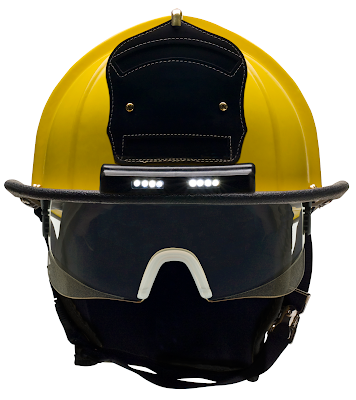 Bullard ReTrak Structural Helmet with TrakLite Lighting System