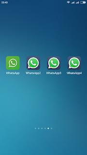 WA2, WA3, WA4 Multi Whatsapp Mod Android 2.18.156 Apk Terbaru 2018