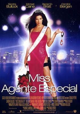 Cartel de Miss Agente Especial