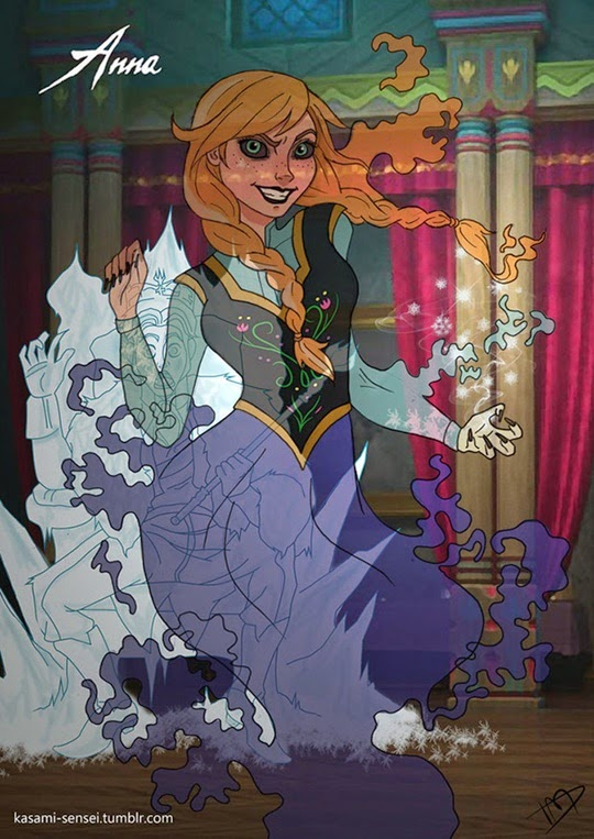 Disney Princesses-Transformed-2