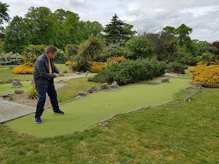 East Park Mini Golf in Southampton