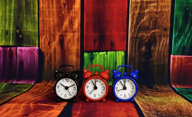 czym jest czas - zegary