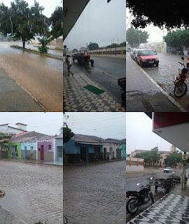Chuvas e ventanias são registradas em Cuité e Nova Floresta; veja vídeo