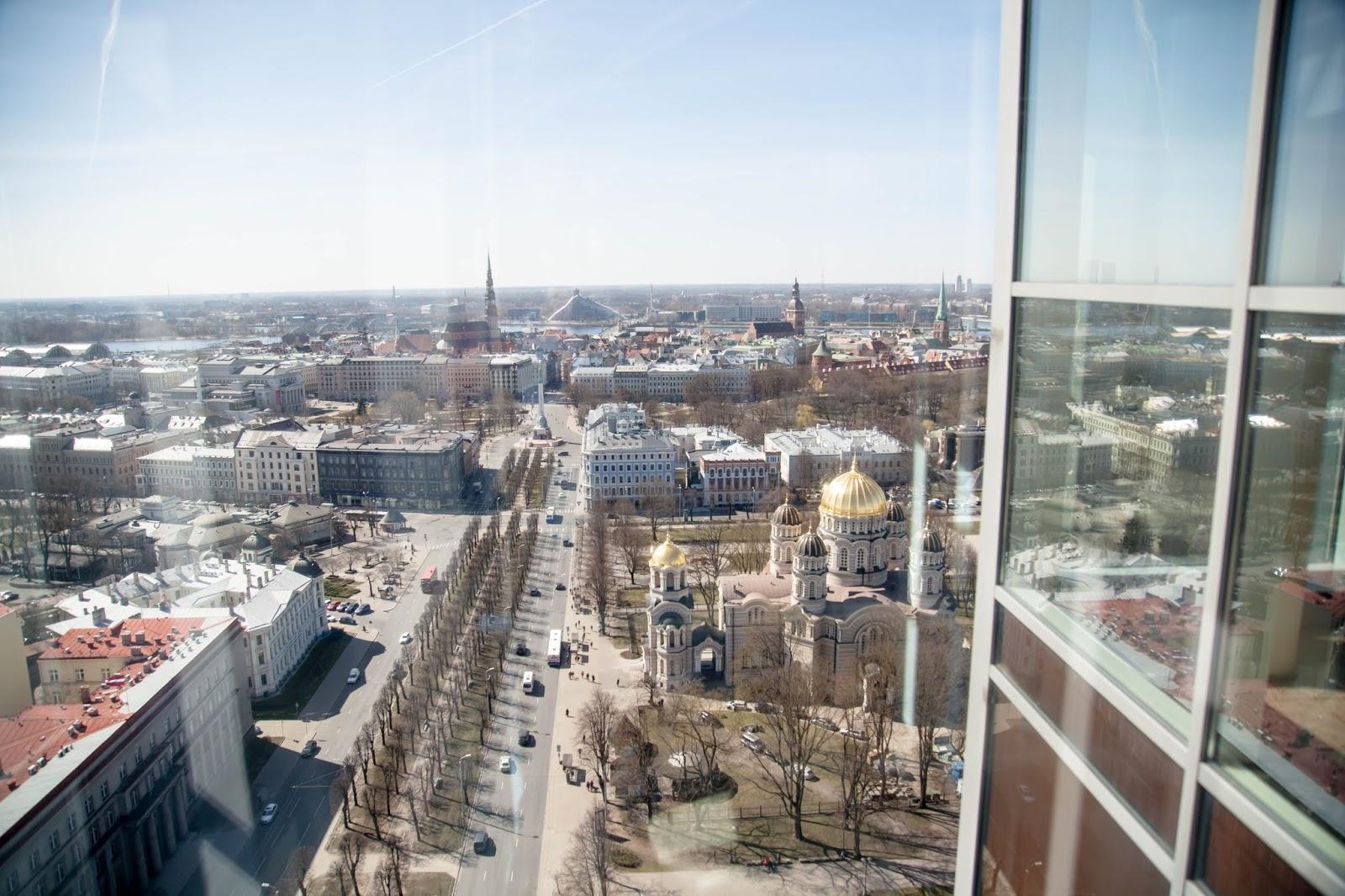 Skyline bar Riga Riika näköala