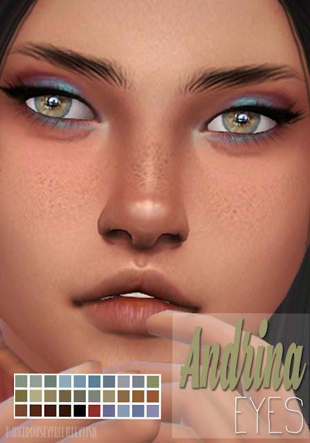 TS4 | Real Eyes Human | DangerouslyFreeJellyfishCC