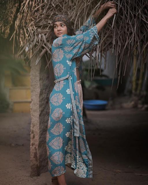 Model Sakshi Pradhan Hot Photoshoot At Goa Navel Queens