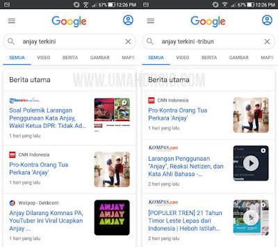 Trik Blokir Website di Hasil Pencarian Google