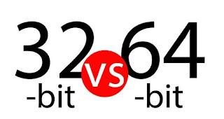 Perbedaan System Operasi 32 bit Dan 64 bit