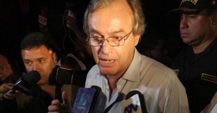 MININTER: Ministro del Interior afirma que sería un error derogar D. L. 1268 - www.mininter.gob.pe
