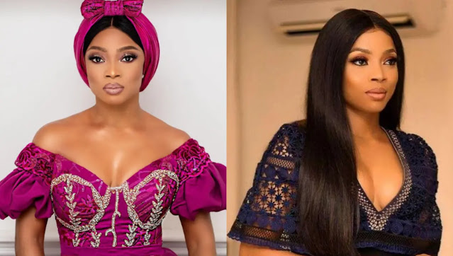 You all are not Normal- Toke Makinwa reacts to Nigerians who calls her Old woman