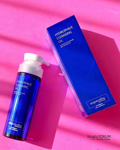 siberian wellness experalta platinum hydrophilic cleansing oil temizleme yağı kullananlar