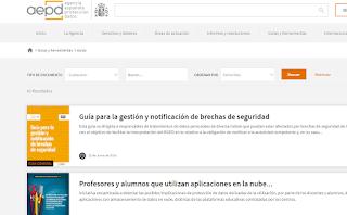 Guías de la Agencia Española de protección de datos
