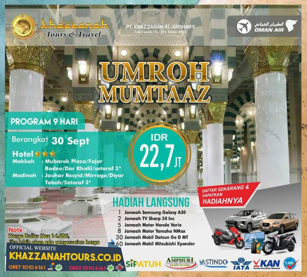 Umroh Mumtaaz September
