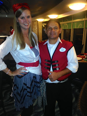 pirate night disney cruise outfit with crew