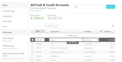 mint.com transactions