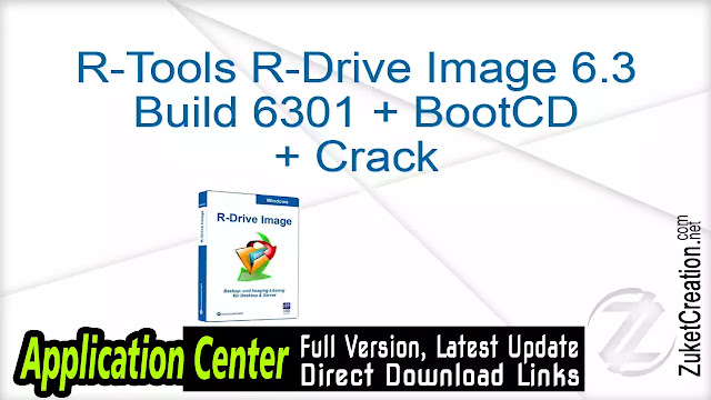 R-Tools R-Drive Image 6.3 Build 6301 + BootCD + Crack
