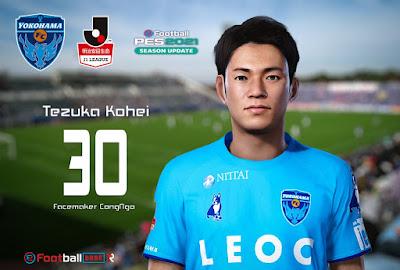 PES 2021 Faces Tezuka Kohei by CongNgo