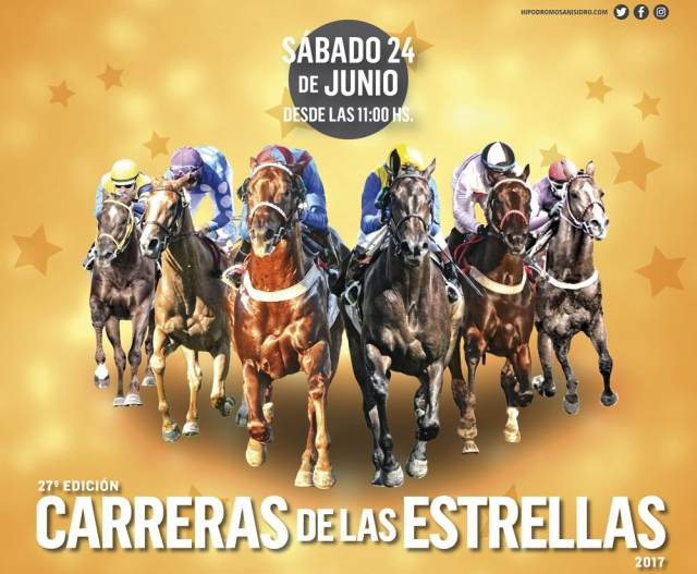 Carreras de las Estrellas 2017 San Isidro
