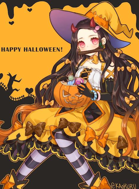Hình ảnh Kimetsu no yaiba halloween 2020 - Kamado Nezuko