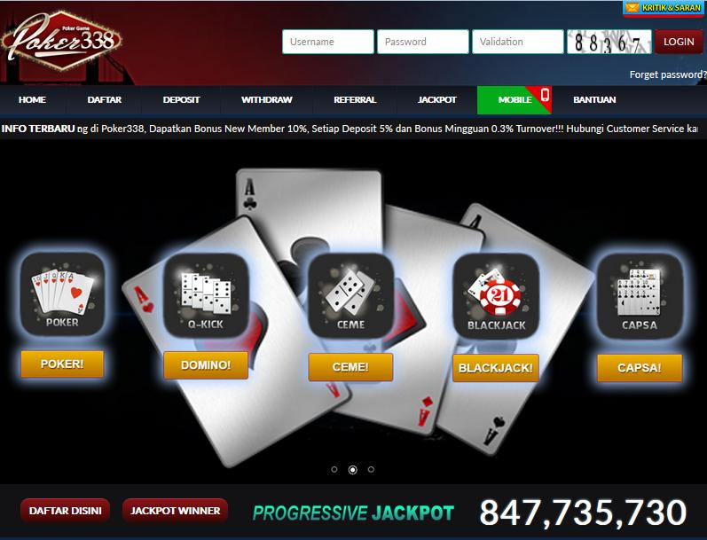 Poker338 Bandar Domino Qiu Qiu Indonesia Terbaik
