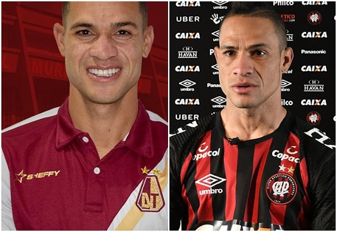 Desde Brasil llegó al DEPORTES TOLIMA su primer refuerzo, para la Liga Águila 2 2019 y la Copa Águila