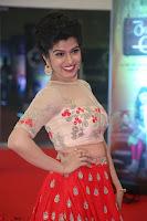 Mahima in beautiful Red Ghagra beigh transparent choli ~  Exclusive 063.JPG
