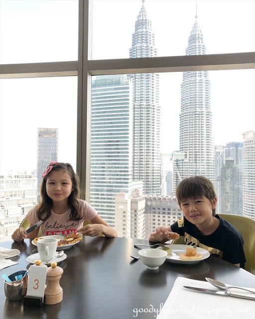 Grand Hyatt KL breakfast