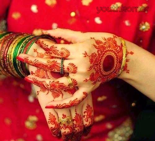 Bridal hand Mehndi DP 2016