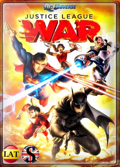 La Liga de la Justicia: Guerra (2014) HD 720P LATINO/INGLES