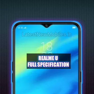 Realme u price and launch date
