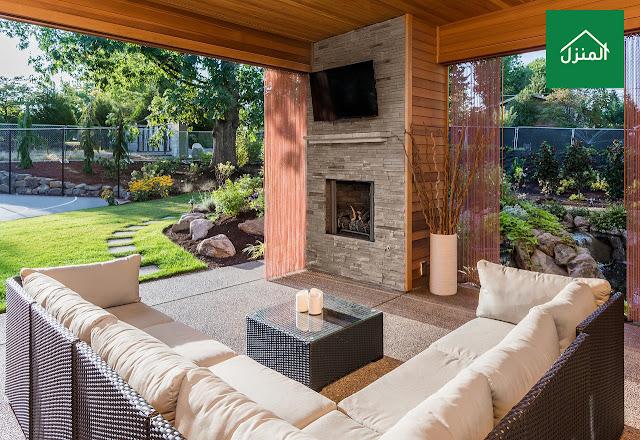 صور تنسيق ديكور حديقة في البيت