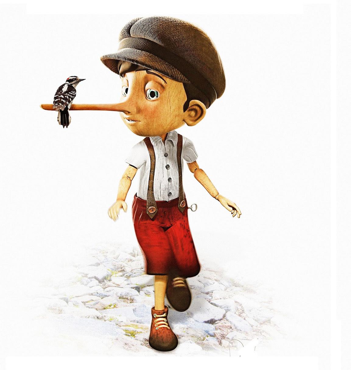 Gambar lucu Kartun Pinokio