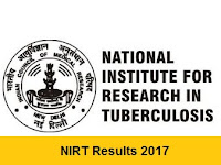 NIRT Results 2017