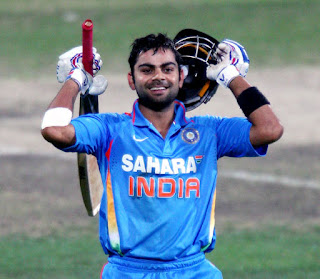 Virat Kohli 102 - West Indies vs India 4th Match Tri-Nation Series 2013 Highlights