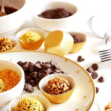 Party Food | Brazilian Brigadeiro Truffles Recipe