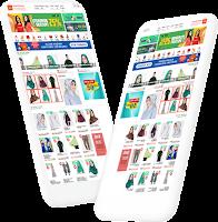 template toko online blogspot mirip marketplace shopee
