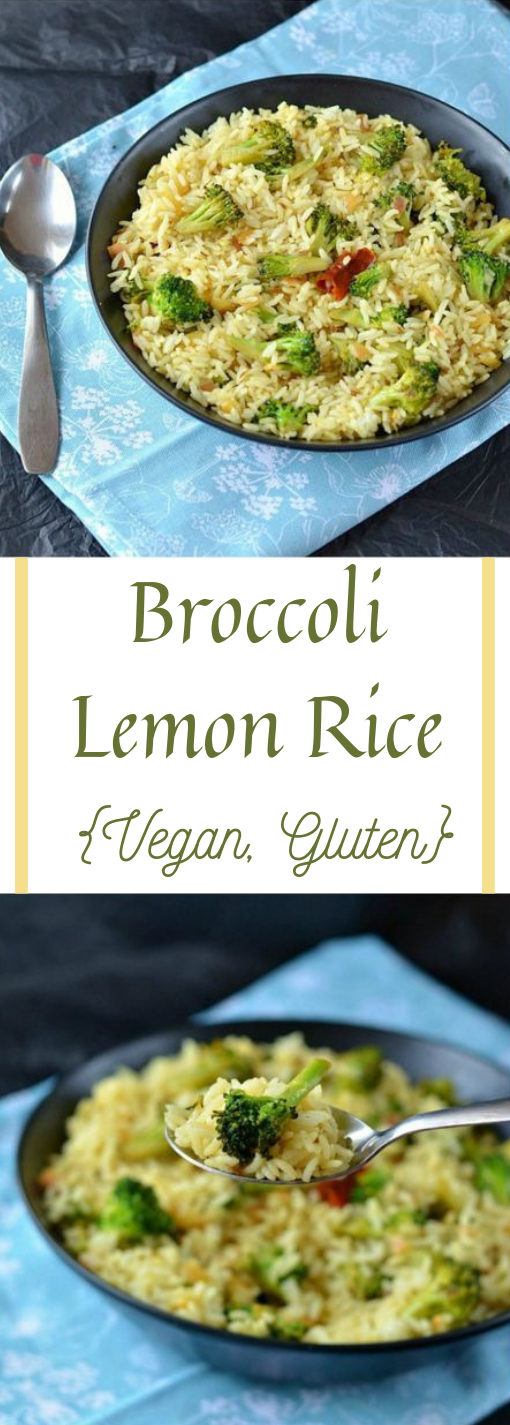 Broccoli Lemon Rice, Lemon Rice with Broccoli #broccoli #vegetarian