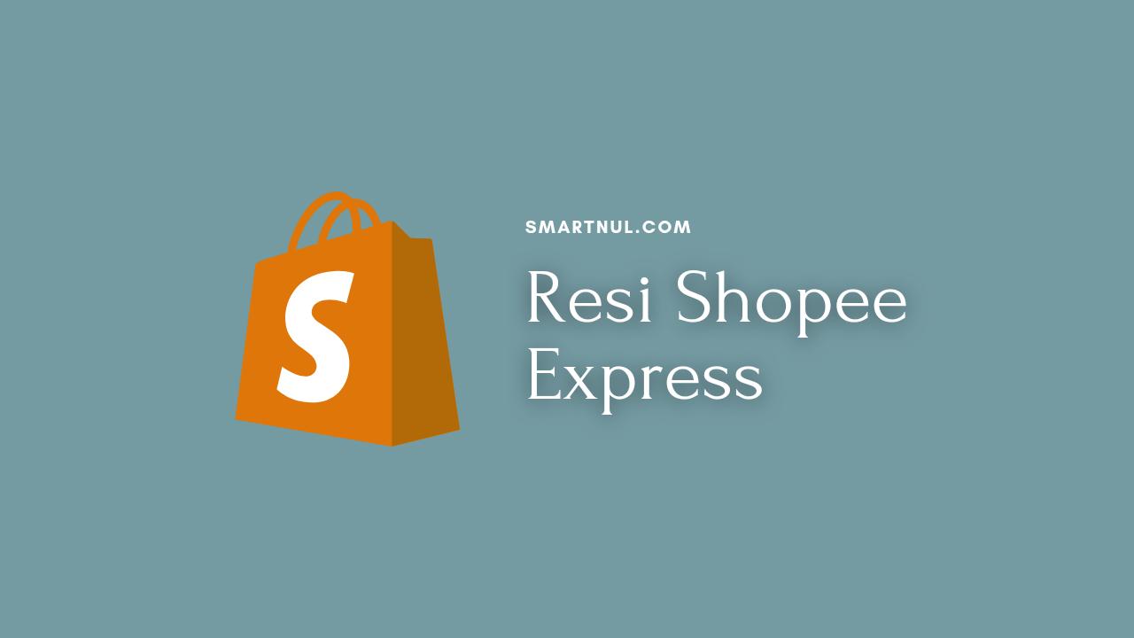 cek resi Shopee Express