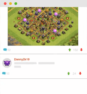 share layout coc
