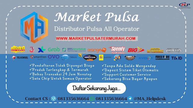 Market Pulsa Tempat Jual Pulsa Online Termurah