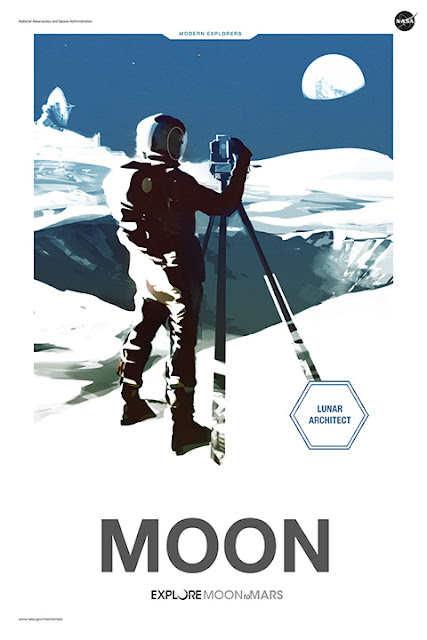 "Moon to Mars: ""Moon"" - Poster"