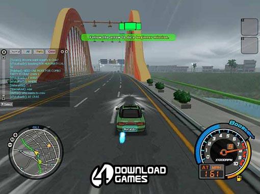 لعبة سباقات السيارات درفت المدينة Drift City اون لاين