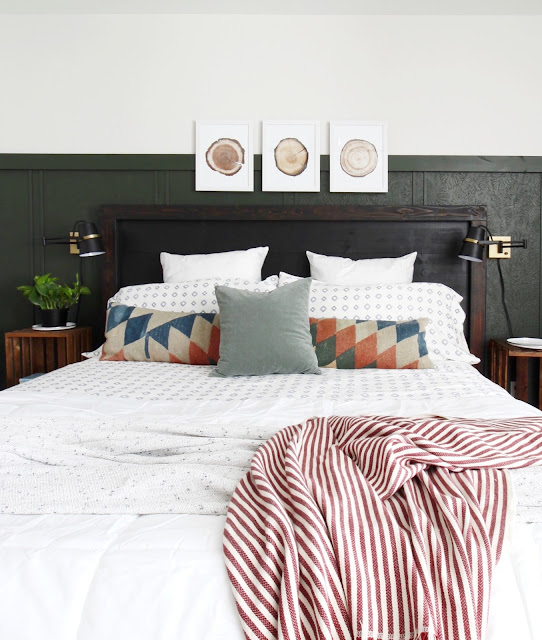 takeover makeover rustic boho bedroom reveal