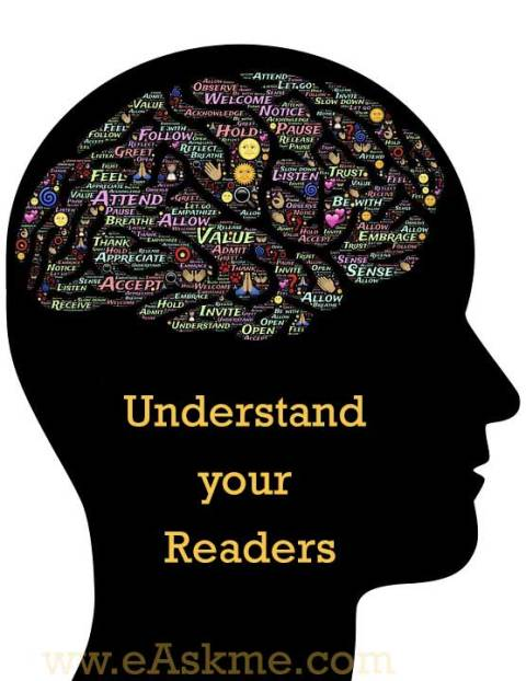 Understand your readers : Best Ways to Improve Your Blog in 2017 : eAskme
